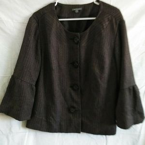 Apt 9 tweed blazer size 18W